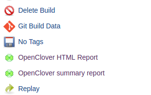 Code coverage report with Jenkins pipeline and Docker
